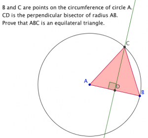 proving triangle