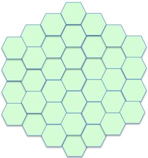 hexagonal cables